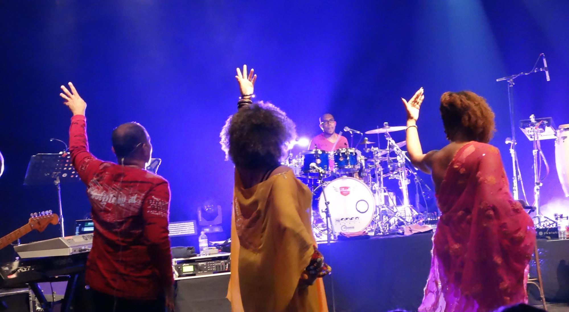 @ Kassav en concert Londres